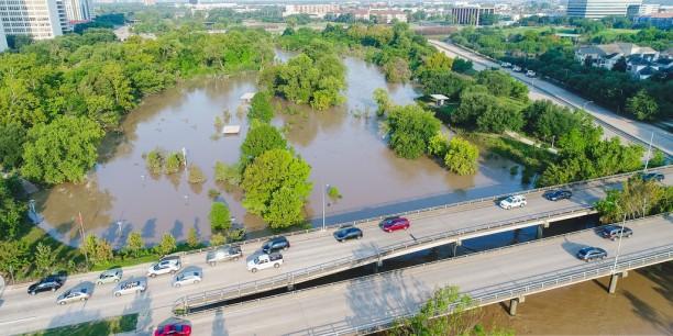 """Houston wurde Anfang September schwer von Hurrikan """"Harvey"""" getroffen. Foto: ©flickr/scottclause"""