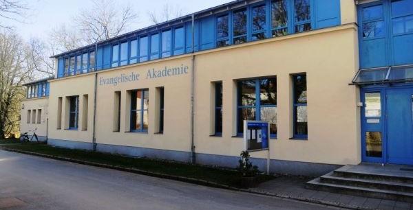 Vorderansicht der Evangelischen Akademie in Wittenberg. Foto: ©Ev. Akademie Sachsen-Anhalt e.V.