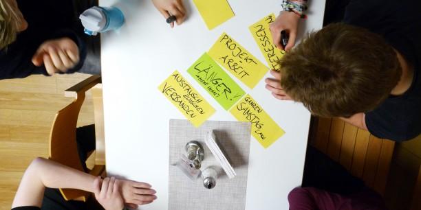 Während des Workshops entstanden Ideen für Projekte und Beteiligungsmöglichkeiten in den Gremien des bejm. Foto: © EAT