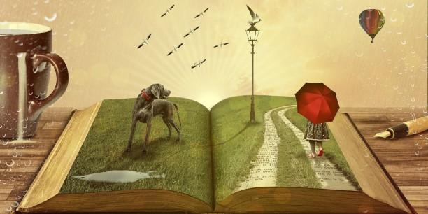 Lesen bildet nicht nur, es befreit auch und eröffnet andere Welten. Foto: comfreak auf pixabay