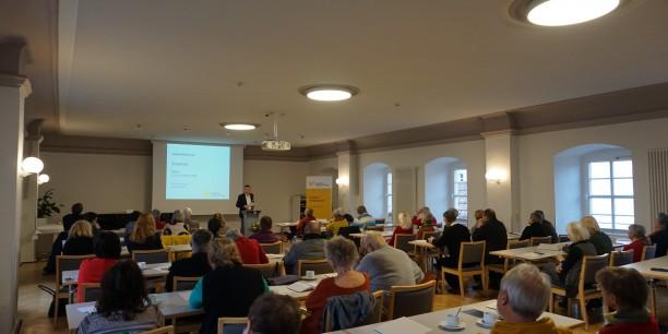 Akademiedirektor Dr. Sebastian Kranich eröffnet die Tagung. Foto: © EAT