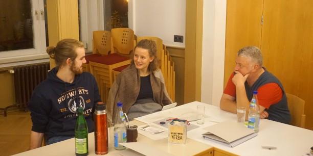 In einer thematischen Übung nahmen die Teilnehmenden die Perspektive der Betroffenen ein. Foto: ©EAT