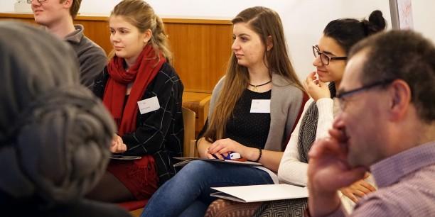 Der Workshop wurde gemeinsam mit der Evangelischen Jugend Baden und der Evangelischen Akademie Baden veranstaltet. Foto: ©Désirée Reuther