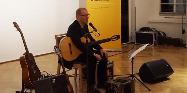 Konzert mit dem Liedermacher Stephan Krawczyk. Foto: © EAT
