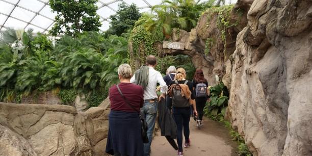 Im Leipziger Zoo entdeckte das Team beim Nachmittagsausflug spannende Tiere aus aller Welt. Foto: © EAT