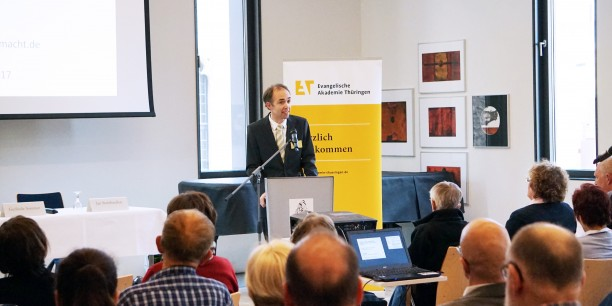 Der Augustinerdiskurs fand in Kooperation mit der Thüringer Landeszentrale für politische Bildung und dem Augustinerkloster in Erfurt statt. Foto: © Sebastian Tischer