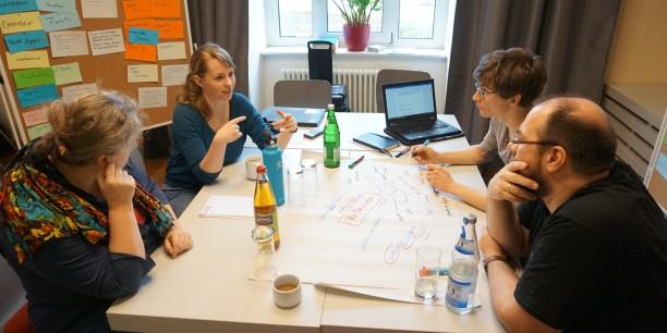 Es wurden Erfahrungen ausgetauscht, Ideen weiterentwickelt und ... Foto: © Christian Schlademann