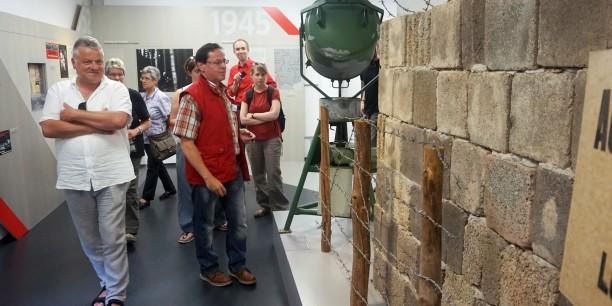 Die Akademie unterwegs im Grenzlandmuseum in Teistungen. Foto: ©Désirée Reuther/ EAT