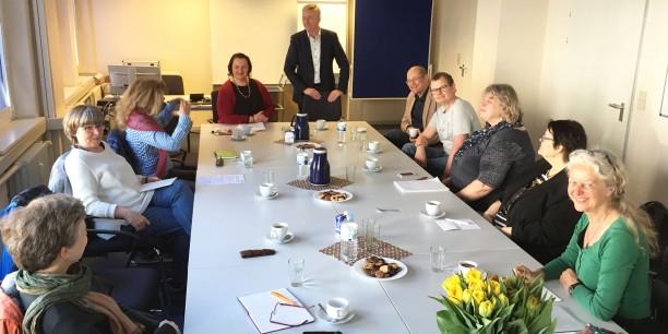 Ein Jobcenter nur für Selbständige: In Hamburg gibt es bundesweit das einzige Jobcenter, dass ausschließlich auf die Beratung und Begleitung von selbständig Tätigen spezialisiert ist. Foto: ©EAT/Holger Lemme