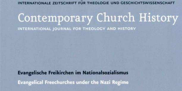 Cover der Zeitschrift für Kirchliche Zeitgeschichte