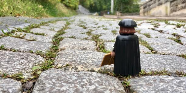 Was bleibt von der Reformationsdekade? In jedem Fall die erfolgreichste Playmobil-Figur aller Zeiten: Der Playmobil-Luther. Foto: ©EAT