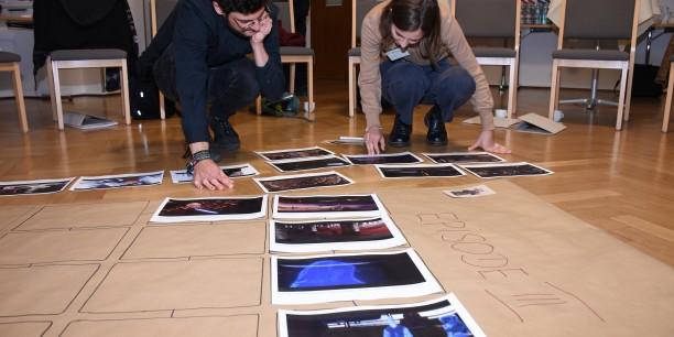 Gemeinsam rekonstruierten die Teilnehmenden die Handlugen der Star Wars-Filme. Foto: © Mirko Pohl (TLM)