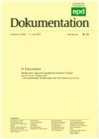 """epd-Dokumentation """"Einsamkeit"""", 23/2020"""