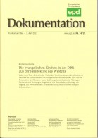 Die Evangelischen Kirchen in der DDR aus der Perspektive des Westens