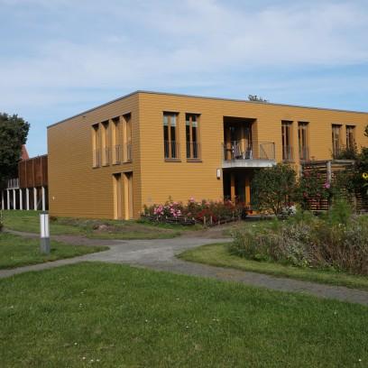 Sitz der Evangelischen Akademie Thüringen im Haus C, Garten des Zinzendorfhauses. Foto: © Zubarik/EAT