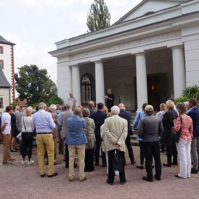 Theaterbesuch des Freundeskreises in Kochberg. Foto: ©EAT