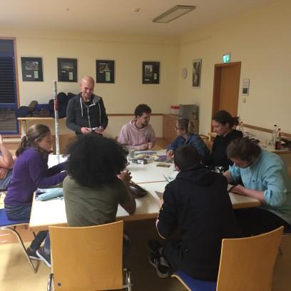 Das Jugendpolitische Team beim Workshop im September 2021. Foto: © JJJ/EAT