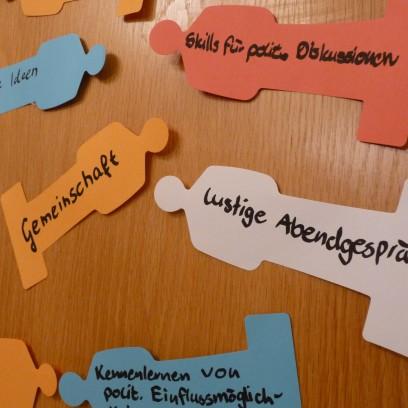 Viele Erwartungen und Ziele beim Startschuss für das Jugendpolitische Team. Foto: © EAT