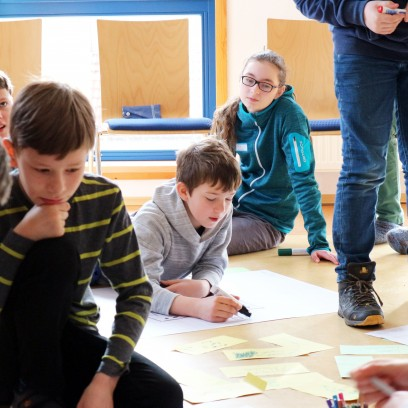 Minecraft Redstone-Workshop in der Jugendbildungsstätte Junker Jörg in Eisenach. Foto: ©Désirée Reuther/ EAT