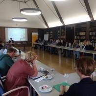 Fachliche Unterstützung gab es von Prof. Matthias Busch der Universität Trier. Foto: ©Facebook: Thüringen 19_19
