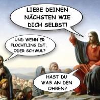 Bergpredigt Bild: © Netz Teufel