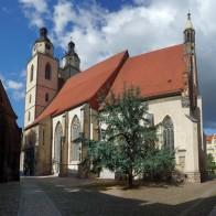 Lutherstadt Wittenberg, Kirchplatz, Stadtpfarrkirche St. Marien © M_H.DE - Eigenes Werk, CC BY-SA 4.0/Wikimedia Commons