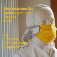 Alle machen mit beim Schutz vor Corona, auch unser Hauspatron Zinzendorf. Foto: © Zubarik/EAT